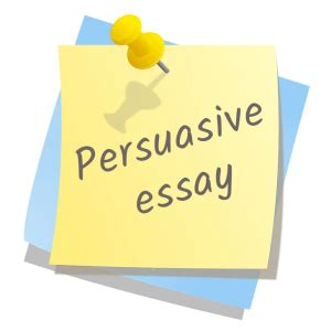 Can you use i in persuasive essay
